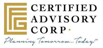 Certified Advisory Corp