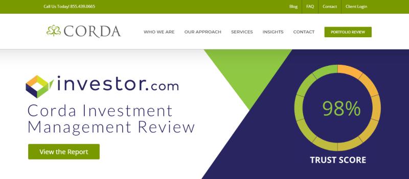 Corda Investment Management example