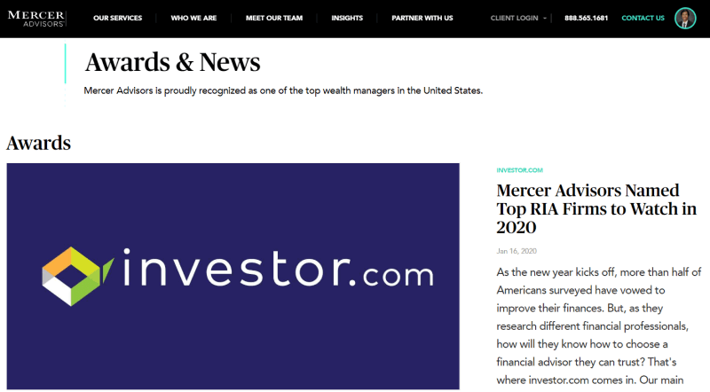 Mercer press release example