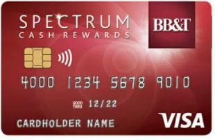 BB&T Spectrum Cash Rewards Credit Card